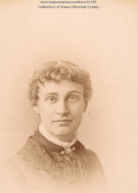 Caroline E. Gould, Portland, 1885