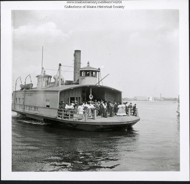 Ferry 'Kittery,' ca. 1904