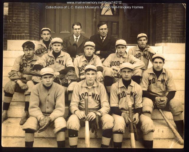 Good Will Baseball Team 1910