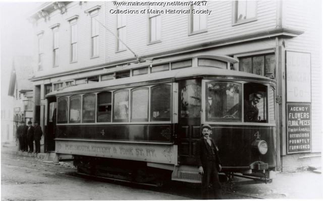 Street railway, Kittery, c. 1898