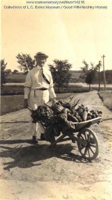 Fresh vegetables, Good Will Homes, ca. 1900