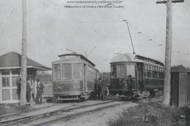 Street cars, South Berwick Junction, 1904