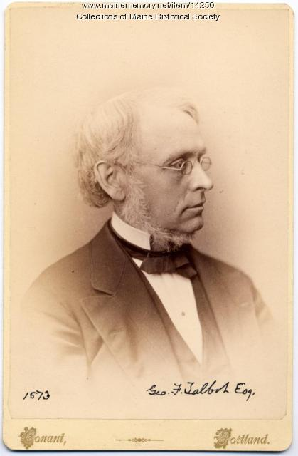 George F. Talbot, Portland, 1873