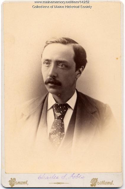 Charles S. Fobes, Portland, ca. 1875