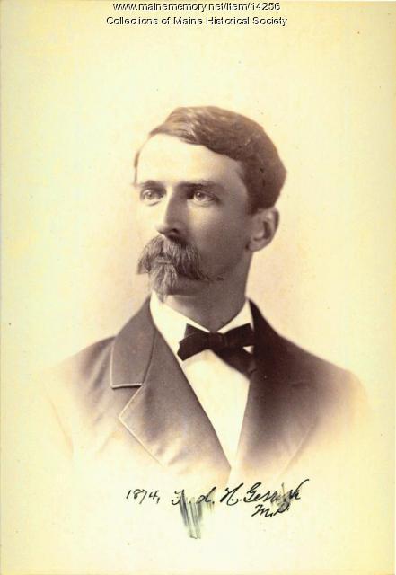 Frederic H. Gerrish, Portland, 1874