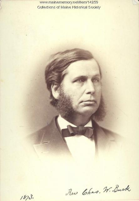 Charles W. Buck, Portland, ca. 1873