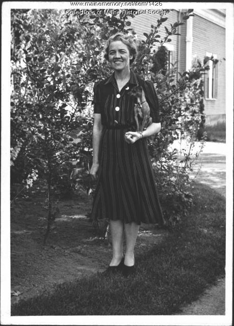 Margaret Chase Smith, Skowhegan, 1940