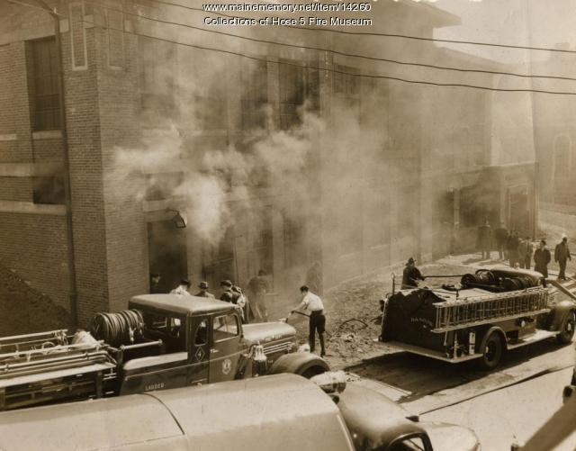 Bangor Hydro Substation Fire