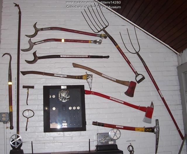 Hose 5 Fire Museum - Wall of Tools