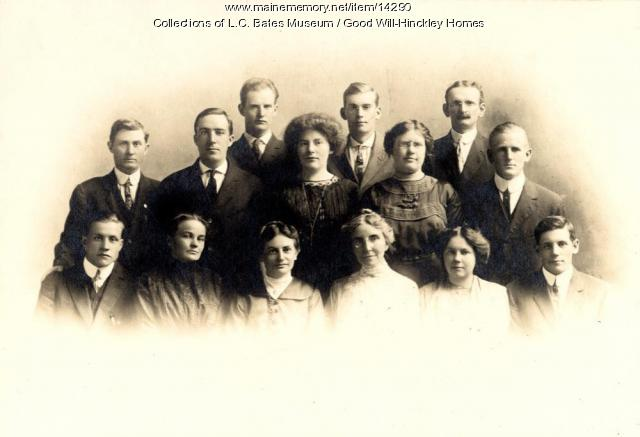 Good Will teachers, Fairfield, 1912