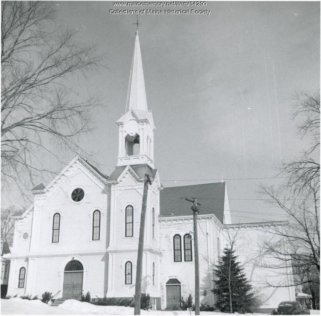 Woodfords Church, Portland, 1956