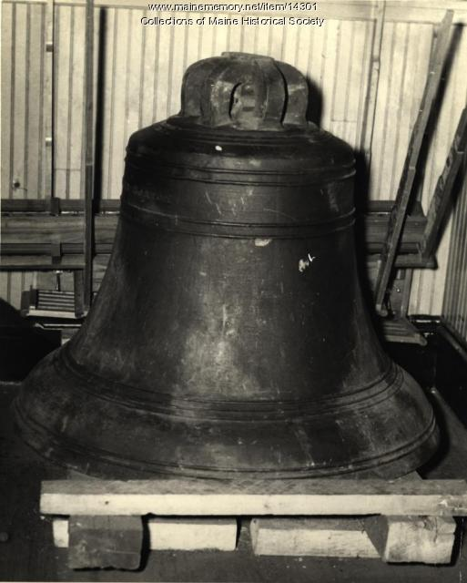 Church bell, Portland, 1943