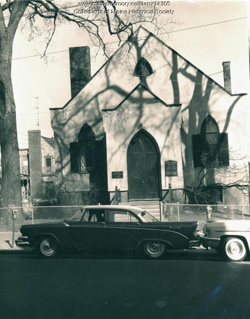Preble Chapel, Portland, ca. 1960