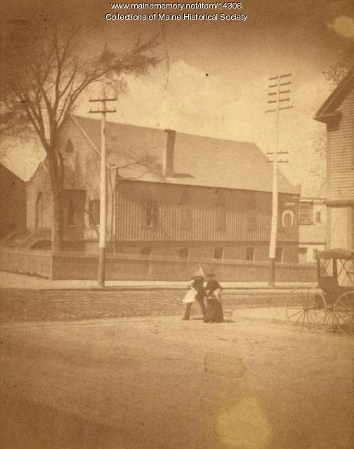 Preble Chapel, Portland, ca. 1900