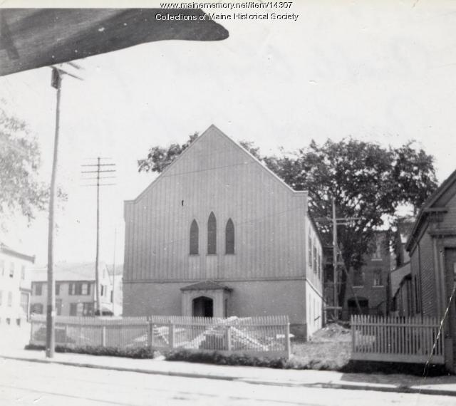 Preble Chapel, Portland, 1899