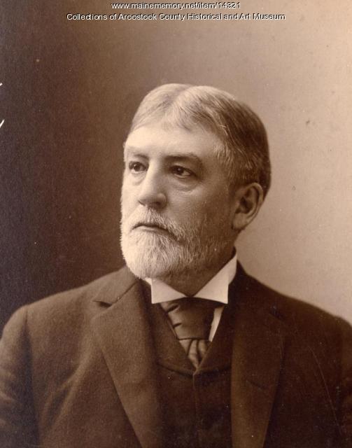 Senator Eugene Hale, ca. 1890