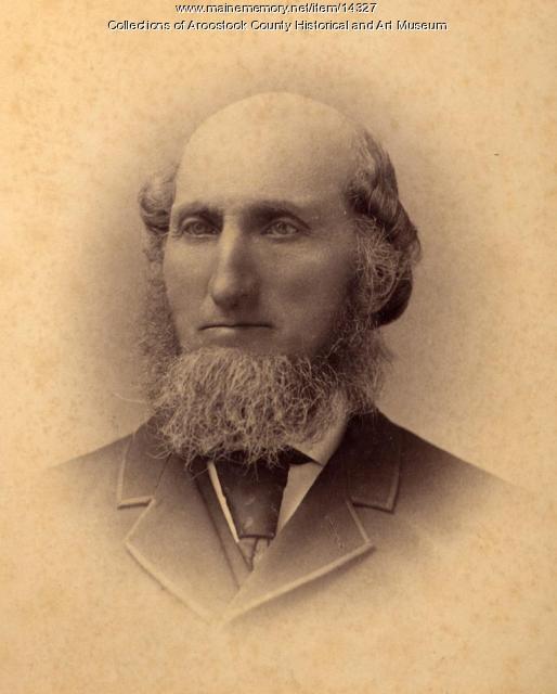 Isaac Barker, Houlton, c. 1895