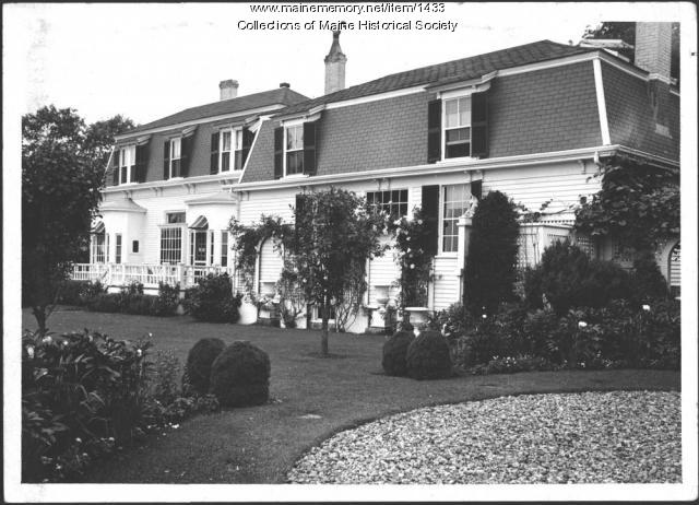 Howells home, Kittery Point, 1940