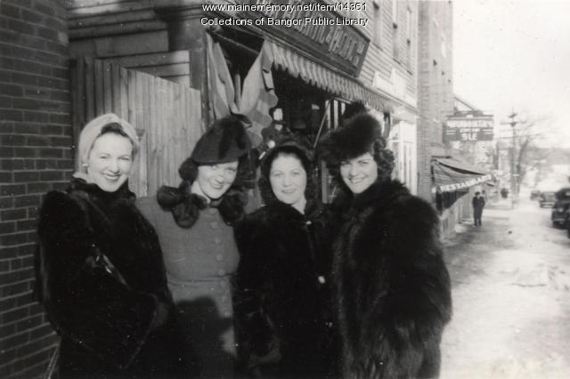 Hancock Street, Bangor, 1941