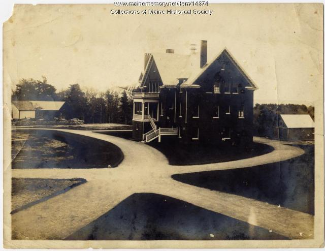 Cottage home, State School for Boys, ca. 1900