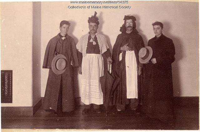 State School for Boys staff, ca. 1900