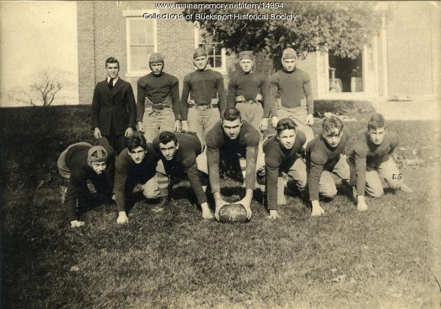 East Maine Conference Seminary football team 1919