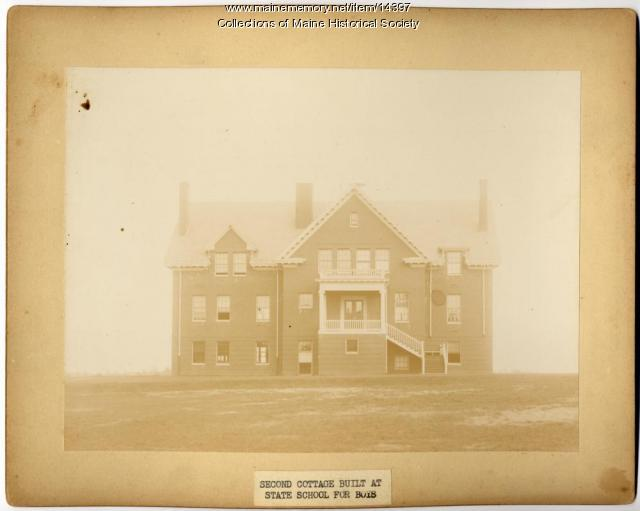 Second cottage, State School for Boys, South Portland, ca. 1880