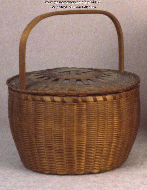 Carrying Basket, Micmac, ca. 1870