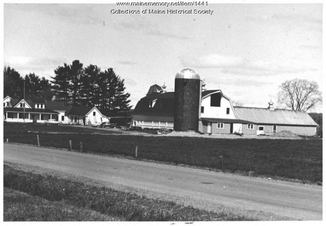 Brockway homestead, Milo, ca.1950