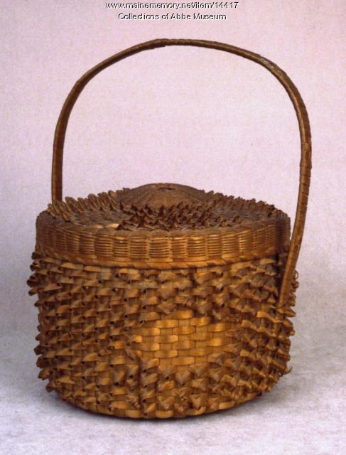 Cake Basket, probably Micmac, ca. 1870
