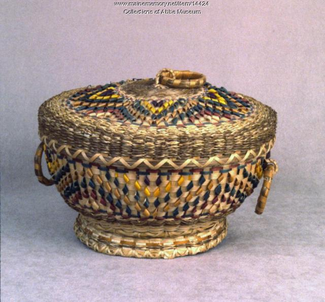 Sewing Basket, ca. 1980