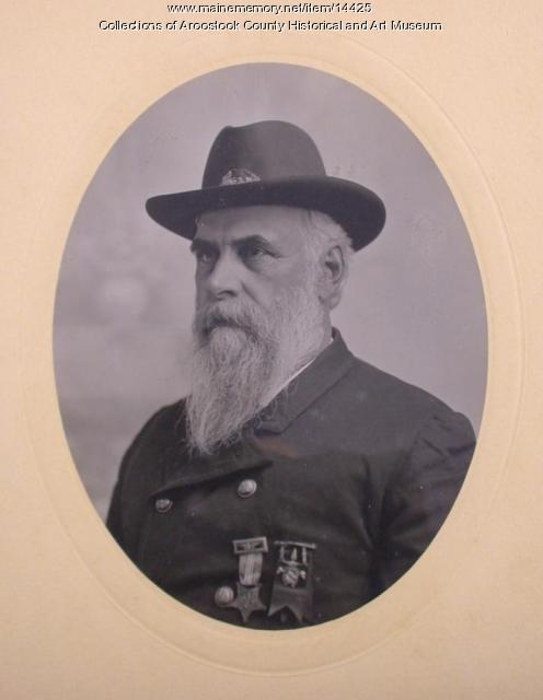 Captain Blackhawk Putnam, Houlton, ca. 1890