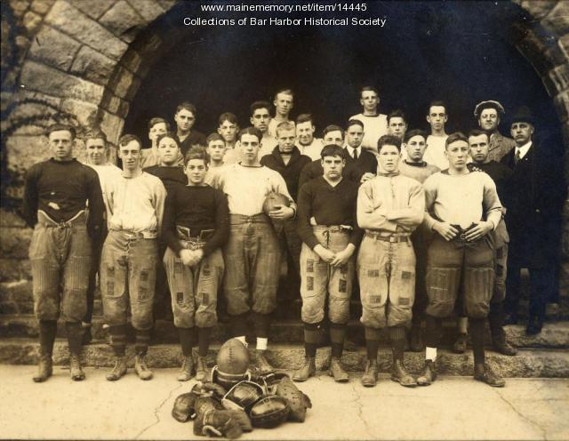 Bar Harbor High School football team, 1921