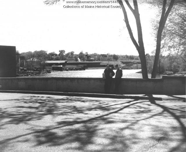 Sebec River, Milo, 1954