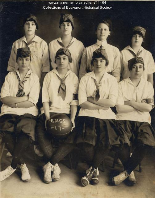 EMCS Women's Basketball team 1917