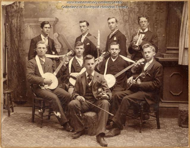 Seminary Glee Club, Bucksport, 1894