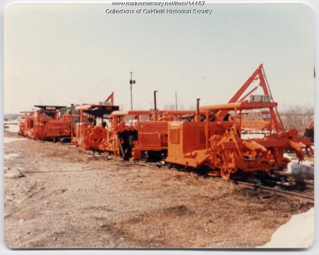 Track Maintenance Equipment, Oakfield, c. 1960