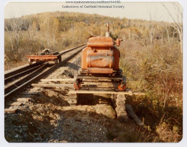 Portable Bangor and Aroostook Railroad Generator, c. 1970