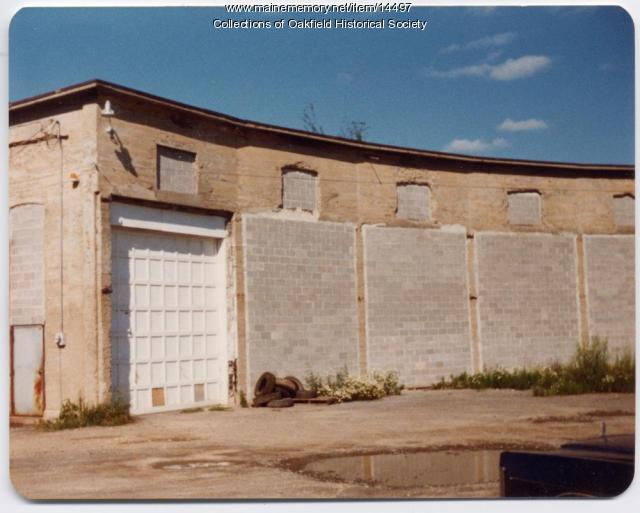 Old Bangor and Aroostook Railroad Roundhouse, Caribou, c. 1970