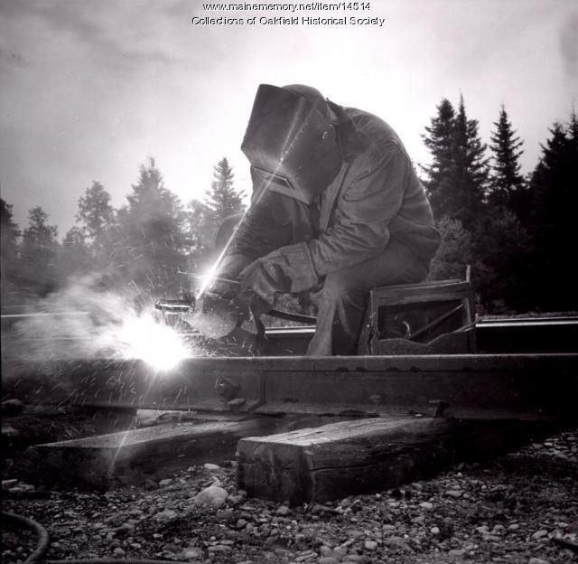 Track repair, ca. 1955