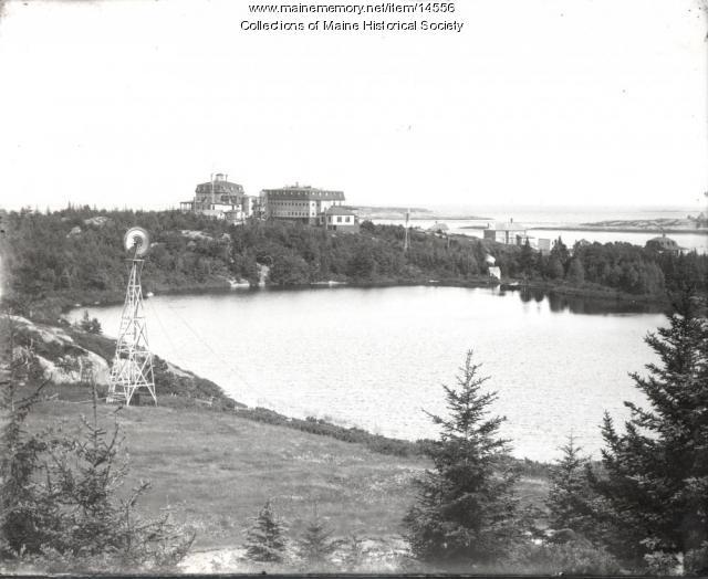 Rockledge Hotel at Popham Beach, ca. 1890