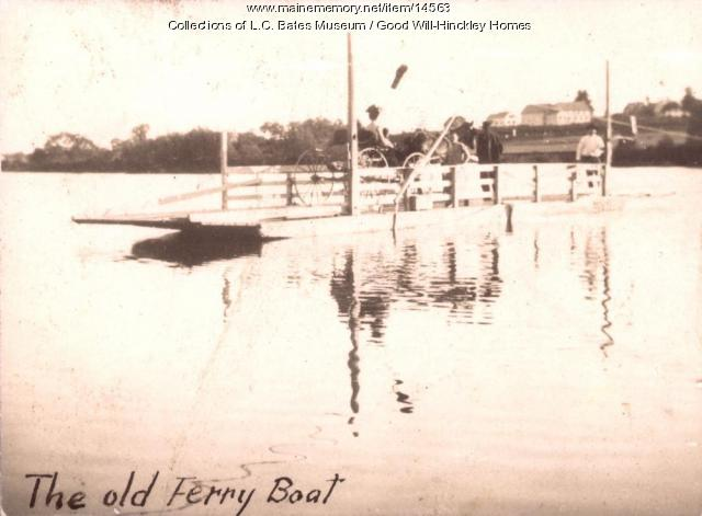 Pishon's Ferry, Fairfield, ca. 1900