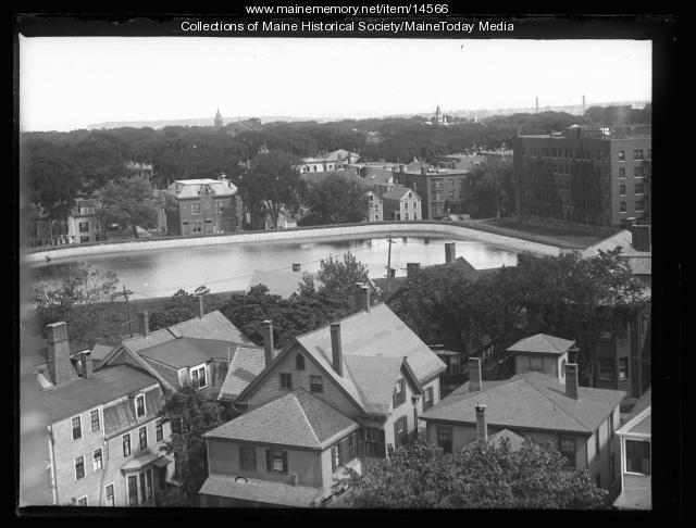 Bramhall Reservoir, Portland, 1926