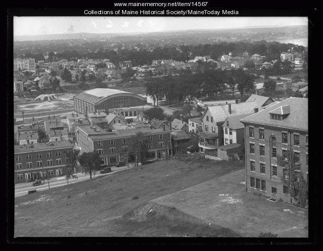 Congress Street from Maine General Hospital, 1926
