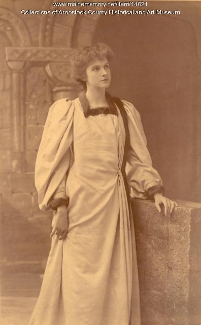 Faye Davis, actress, ca. 1900