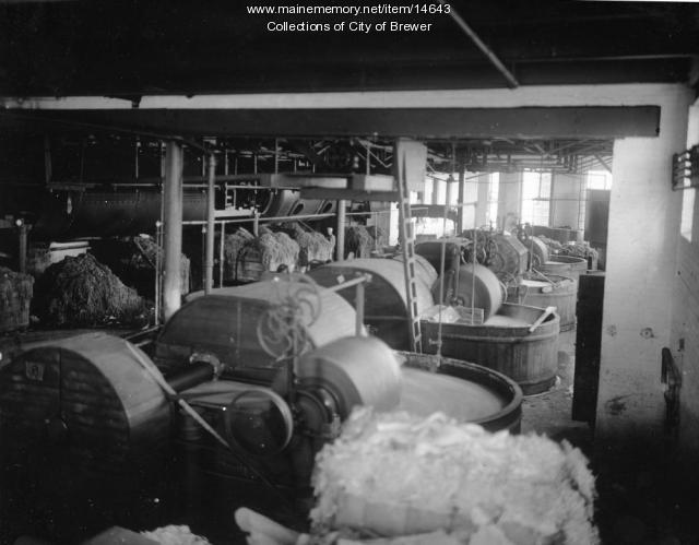 Pulp making, Brewer, 1921