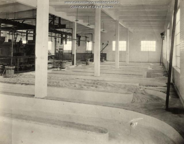 Eastern Manufacturing bleaching machine, Brewer, 1921