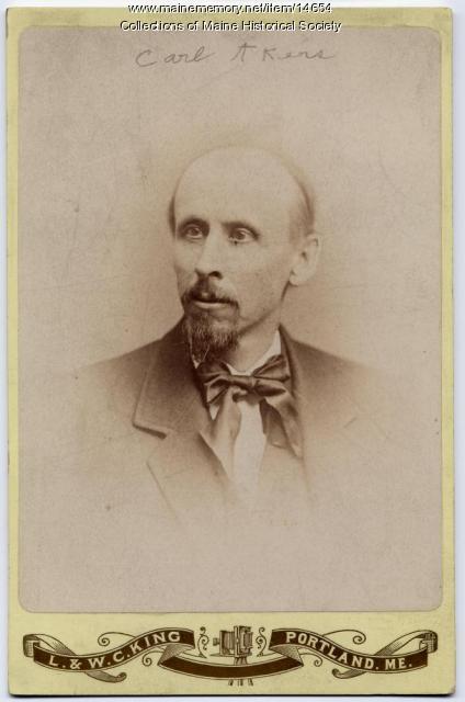 Charles (Carl) Akers, ca. 1880