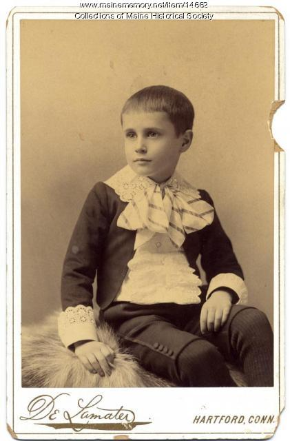 Neal W. Allen, ca. 1892