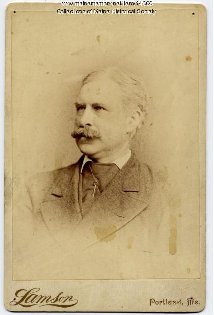 Samuel J. Anderson, Portland, ca. 1890